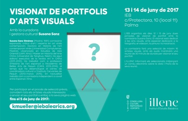 Portfolio review with Susana Sanz